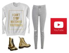 I Am Very Sorry To Say... by hanakdudley on Polyvore featuring Oakley, J Brand and Dr. Martens