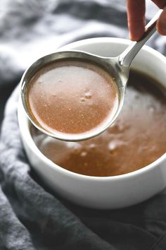 4 Points About Vintage And Standard Elizabethan Cooking Recipes! Beef Broth Brown Gravy - Simple 5 Ingredient Brown Gravy Made With Beef Broth, Perfect For Meats, Potatoes, And More. Homemade Brown Gravy, Homemade Sauce, Homemade Beef Gravy, Sauce Recipes, Beef Recipes, Cooking Recipes, Cooking Tips, Beef Dishes, Food Dishes