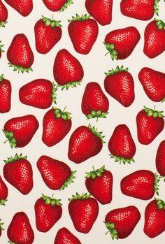 Alexander Henry - nicole's print strawberries natural