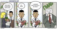 business cat comic - Google Search