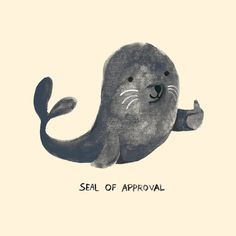 Poster | SEAL OF APPROVAL von Budi Kwan