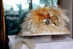 Capello stile Belle Epoque, by Scatola Magica