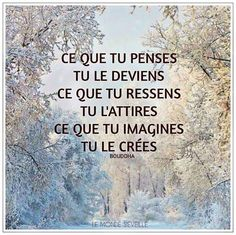 citation - Nat c - Pin Positive Mind, Positive Attitude, Good Quotes For Instagram, Best Quotes, Life Quotes, Quote Citation, Positive Inspiration, Motivation Inspiration, French Quotes