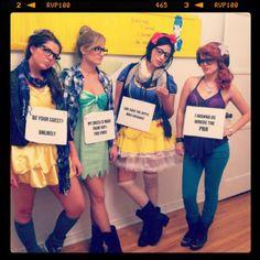 Hilarious Halloween costumes- Hipster Disney Princesses
