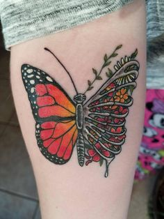 My new ribcage butterfly! Done by Sequoya at Broken Clover in Tucson, AZ.