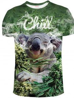 CHILL KOALA Koszulka Tshirt Full Print