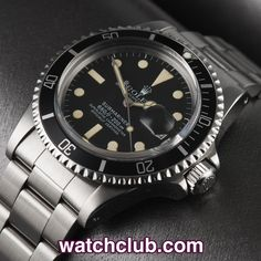 """Rolex Submariner Date Vintage - """"Mark III Dial"""" REF: 1680 