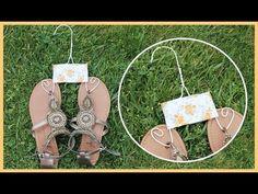DIY - Perchas vintage para organizar tus sandalias