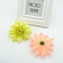 1 unids envío gratis flores artificiales flores decorativas de boda de la margarita DIY decoración de la boda guirnalda de la flor artificial(China (Mainland))