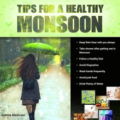 Because #healthymonsoon = #happymonsoon