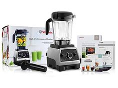 Vitamix 750 Heritage G-Series Blender with Container + Introduction to High Performance Blending Recipe Cookbook + Getting Started DVD + QuickStart Gui Vitamix Blender, Smoothie Blender, Smoothies, Milkshake Blender, Vitamix Recipes, Specialty Appliances, Small Appliances, Baking Appliances, Frozen Drinks