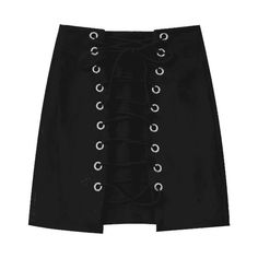 Lace Up Mini Faux Suede Skirt ($25) ❤ liked on Polyvore featuring skirts, mini skirts, zaful, lace up front skirt, mini skirt, lace up mini skirt and lace up skirt
