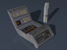 Star Trek Papercraft: Medical Tricorder & Scanner | Tektonten Papercraft