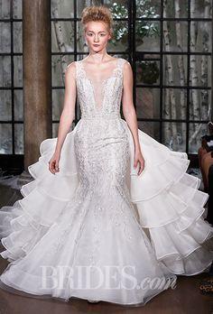 Brides: Ines Di Santo - Fall 2015. Wedding dress by Ines Di Santo