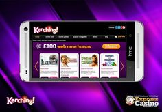 Players can spend some time enjoying Da Vinci Diamonds or Garden Party, and also able to try luck at more traditional casino –style games such as 20+ Blackjack & more innovative and fun games only at Kerching Casino! Also Kerching is happily offering a 100 % match bonus on your first deposit up to £100! Roll up your sleeves to play the games at http://www.strictlyslots.eu/kerching-mobile-casino