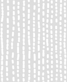 Line Art peel & stick fabric wallpaper. A playful dash dot pattern that will look great in your baby nursery or any room for that matter.  This re-positionable wallpaper is designed and made in our studios in New Jersey. The designs are printed onto an adhesive backed fabric that can be removed, repositioned and reused over and over again. They do not leave any residue on your walls and are ideal for DIY room makeovers without the mess and headaches of traditional wallpaper. [Color] Same as…