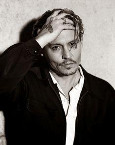 Johnny Depp for Interview Magazine, April 2014