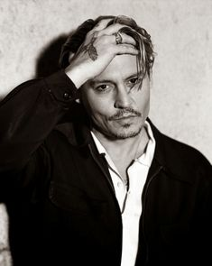 Johnny Depp for Interview Magazine, April 2014