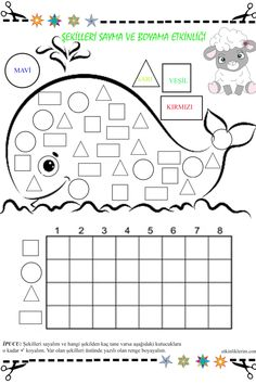 Cutting Activities, Preschool Learning Activities, Free Preschool, Preschool Worksheets, Games For Kids, Diy For Kids, Crafts For Kids, Play Day, Sea Theme