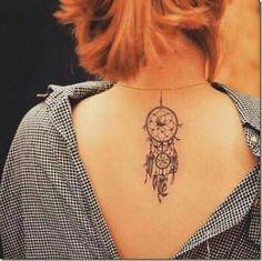 90 Inspirational Dream Catcher Tattoo Designs Done Right Atrapasueños Tattoo, Tattoo Tribal, Tattoo Trend, Tattoo Motive, Feather Tattoos, Flower Tattoos, Dreamcatcher Tattoos, Dreamcatcher Design, Dreamcatcher Feathers