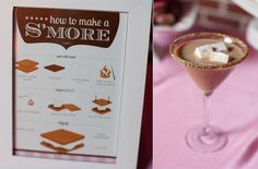 DIY smores and chic martinis
