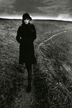 Jeanloup Sieff, Lady in Black.  1964