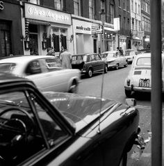 Captivating Pictures from a Stroll Around Soho on March 15 1966 - Flashbak London Now, Old London, West London, Candid Photography, Street Photography, Soho Restaurants, London History, Old Street, London Photos