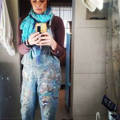 Of to work we go hi-ho-hi-ho-hi-ho Hope Art, Encaustic Art, Harem Pants, Art Gallery, Artist, Color, Fashion, Moda, Harem Trousers