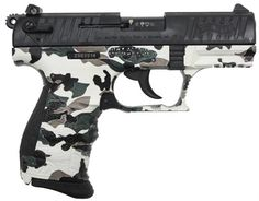 """Walther P22 3.4"""", Winter Camo, Ambi Safety My Walther(:"""
