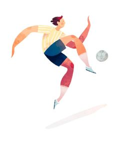 Quick soccer dude warm up from today. (Also, I don't think I can post anything soccer related without mentioning that if you aren't…