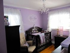 46 trendy baby room ideas for girls princess project nursery cribs - Modern Purple Nursery Decor, Girl Nursery Colors, Baby Girl Nursery Themes, Nursery Crib, Nursery Ideas, Nursery Inspiration, Crib Bedding, Bedding Sets, Girl Room