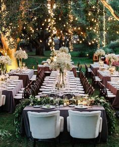 Love the colours, rich deep greens, deep woods, white, and the mauve purple table clothes. Textures and colors