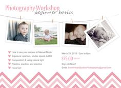 Marketing Template for Photography Class or Mini Session