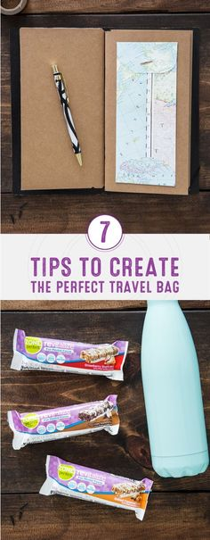 Do you have a trip planned to celebrate the end of summer? Check out this guide for 7 Tips to Create the Perfect Travel Bag to be prepared for your next adventure! By packing things like ZonePerfect® Revitalize Nutrition Bars, a good book, and your favorite water bottle, you'll be ready to make the most of your vacation.