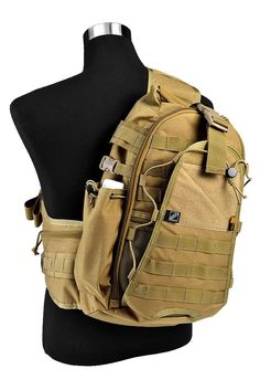 Amazon.com: Jtech Gear City Ranger Outdoor Pack, Camel Tan/Coyote Tan