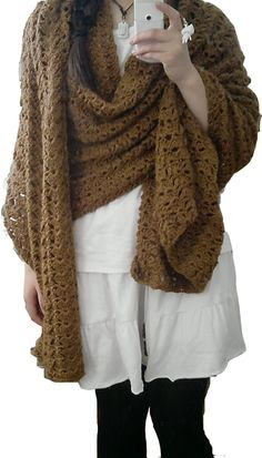 Wrap Poncho. Added to my queue on Ravelry!