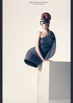 /// The strange woman /// by Alexis Persani
