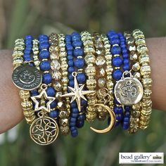 DIY Stargazer charm bracelets you can make yourself