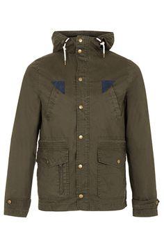 13 mens winter fashion coats and jackets topman khaki waxed trek jacket