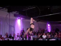 Rebecca Starr's Aerial Performance at the Florida Pole Fitness Championship <3