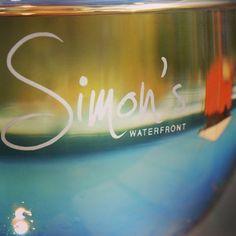 #Simonswaterfront #wine #warrnamboolbeach #love3280 #sun #patroltower #beach #riedel  #sauvignonblanc by simonswaterfront