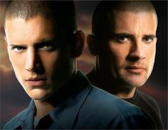Prison Break with sexy Wentworth Miller as Michael Scofield and Dominic Purcell as Lincoln Burrows. Michael Scofield, Wentworth Miller, Theodore Bagwell, Prison Break 3, Lincoln Burrows, Broken Movie, Dominic Purcell, Samheughan, Photography