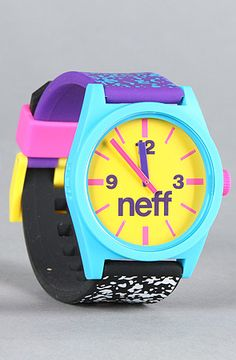 NEFF watch. Dig it.