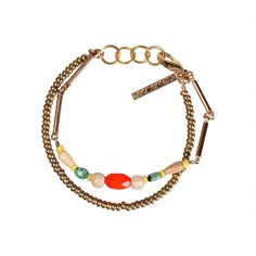 Mixed Media Bracelet by Natalie Jacob