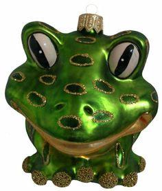 Amazon.com - Frog Christmas Ornament