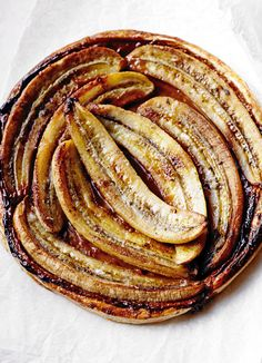 Toffee-banana tart