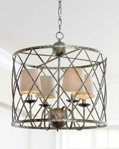 """Open Weave"" Chandelier 