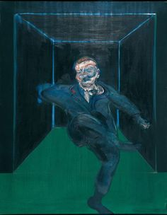 Francis Bacon, Seated Figure,1960. Art Experience NYC www.artexperiencenyc.com/social_login/?utm_source=pinterest_medium=pins_content=pinterest_pins_campaign=pinterest_initial