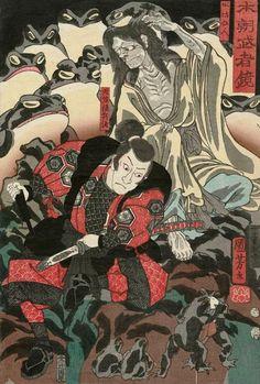 Les monstres d'Utagawa Kuniyoshi, l'un des derniers maîtres de l'estampe (image)
