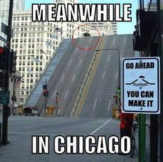 Meanwhile in Chicago the politicians are catching air again!!